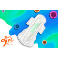 Free sample eco friendly cotton menstrual pad pattern