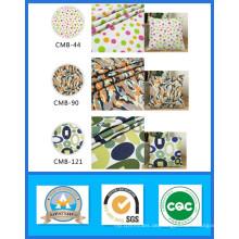 Tausend Designs Lager 100% Baumwolle bedruckt Leinwand Stoff Gewicht 191GSM Breite 150cm