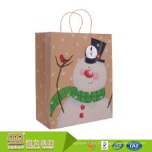 Paquet Fabricants Oem / Odm 100% Recyclé Cadeau Emballage De Transporteur Emballage Sacs En Papier Pas Cher Brun Craft