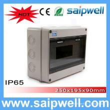 Saip Haute Qualité IP65 12 voies boîte de distribution de disjoncteur 250 * 195 * 90mm