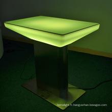 conduit de mobilier d'éclairage LED télécommande couleur changeante utilisé meubles bar