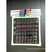 Hot Sale LED Board Marker Pen, Mini Magnetic Blackboard Marker with Brush