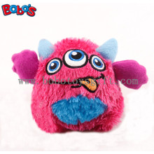 """4"""" Cute Pink Color Stuffed Pet Toy with Squeaker for Puppy and Dog Bosw1064/10cm"""