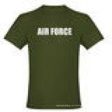 супер качество 100%хлопок футболка-полиэстер/хлопок футболка