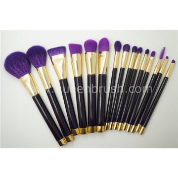 Набор для макияжа с натуральными волосами 15PCS Natural Mineral Set
