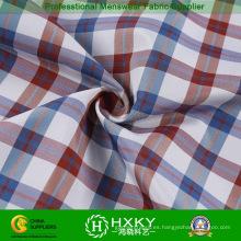 Poliéster hilado teñido de tela con doble capa de la chaqueta o camisa