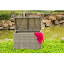 Poly Rattan Muebles de jardín al aire libre Trunk