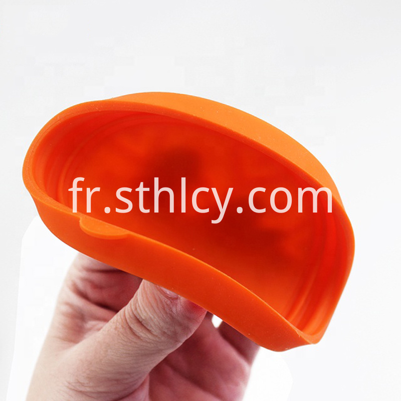 Orange Stainless Steel Food Container Set