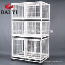 Gros rabais en gros 3tiers Wire Cat Cage Malaisie avec des roues