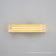 Modern new hotel wall light Square aluminum acrylic 7W LED wall lamp for living room