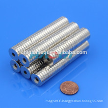 15X3mm 12X4mm NdFeB NIB ndfeb countersunk magnets for sale