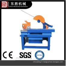 Machine de découpe semi-automatique polyvalente de moulage d'acier