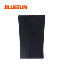 Bluesun Easy Installation Flexible Solar Panels Marine Use 160W Black Flexible Solar Panels  Mini Watt Solar Panel Flexible