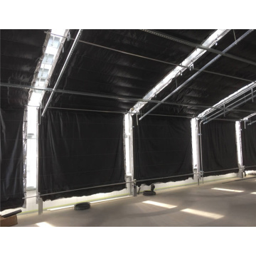 Terowong Pertanian Pencemaran Light Blackout Greenhouse