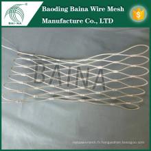 Chine baina exporter une clôture en acier inoxydable de haute qualité