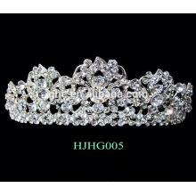 Mädchen Braut Hochzeit Tiaras Kronen niedlichen Tiaras Mode Tiaras für Frauen Daisy Blume Krone Stirnband