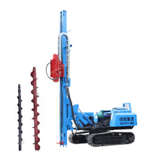 Multi-function foundation pile driver Crawler Pile Driving down hole integrated drilling rig factory sales