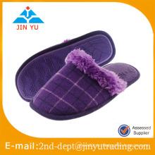 Plüsch Einweg-Flip Flop Pantoffel für Dame Innenbekleidung