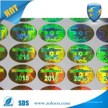3D benutzerdefinierte Hologramm Aufkleber, Laser Anti-Fälschung Aufkleber benutzerdefinierte Design
