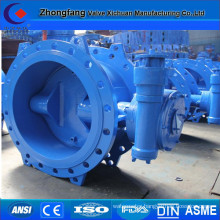 DN700 electric actuator butterfly valve