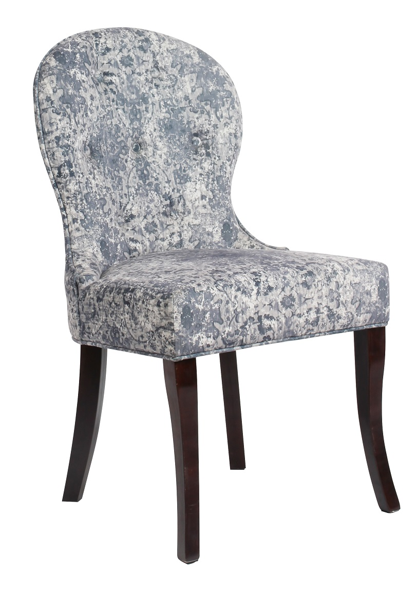 Modern Velvet Fabric Chairs