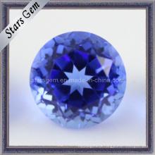 Preço de Fábrica Hot Sale Cristal Azul Escuro Natrual Stone