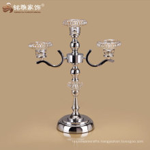 home decorative high quality candle holder with iron material