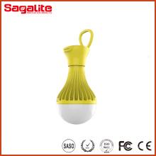 Super Brilho recarregável plástico Camping LED Lanterna
