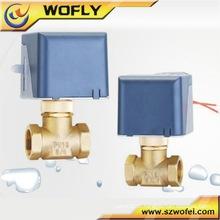 Válvula solenóide de latão de água de 2 polegadas