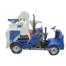 processamento em movimento trator diesel combinado moinho de arroz