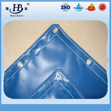High strength 650gsm pvc coated tarpaulin for truck and tent