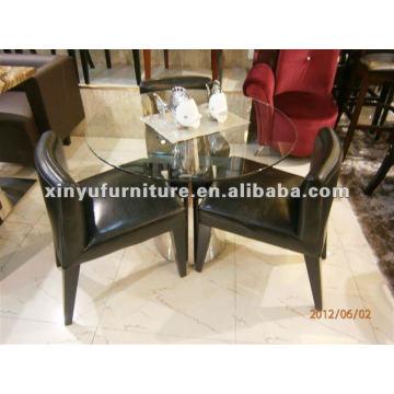Mesa de restaurante occidental y silla conjunto XDW1003