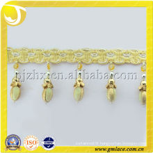 Tradional Chinese Curtain Tassel Beads Fringe Trims for Curtains,Chair Cover,Photo Frame,Table Cloth and Valance Accessory