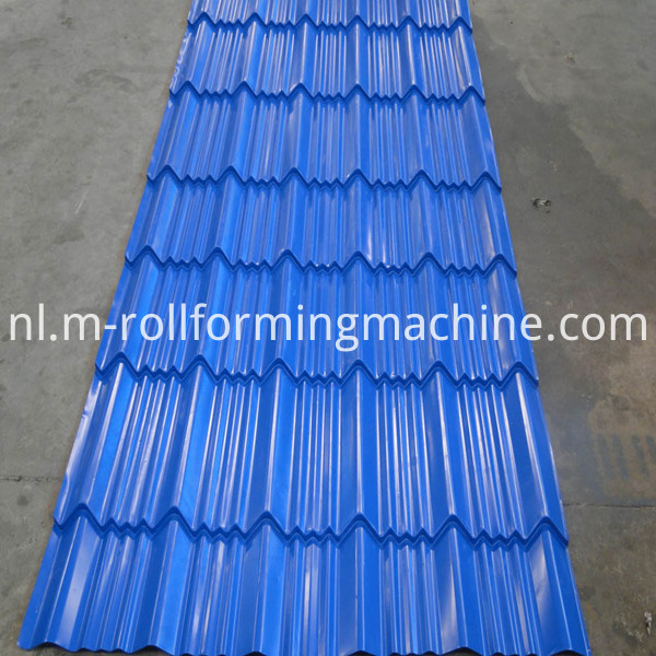 Sheet Metal Tile Roll Former Forming Machine-1