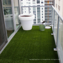 Высокая плотность селитебный landscaping искусственная дерновина для сада украшения