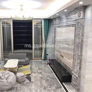 Pemprosesan Marble Asli Custom Countertop Kitchentop
