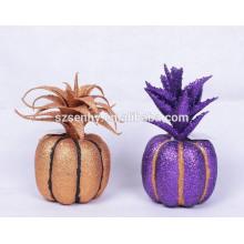 cesta de mimbre iluminado cubo de halloween halloween decoración