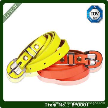 Elegante Moda Patent PU Leather Belt