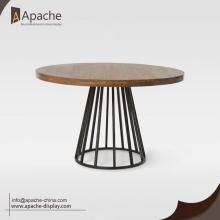 Wooden Round Cafe Dessert Dining Table
