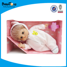 12 inch baby doll with hair dryer set baby toy