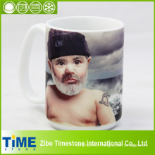 Tasse en porcelaine pour la sublimation personnelle de teinture (001)