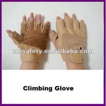 Fingerless Pigskin Leather Outdoor Mountain Climbing Glove ZMR379