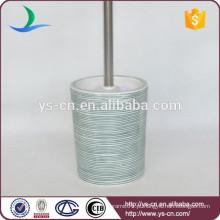 YSb50033-01-tbh Suporte de escova de toucador de porcelana em relevo