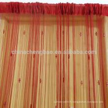 Chine fournisseur india style chaîne rideaux de cuisine prêts à l'emploi