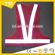 Fita reflexiva de PVC para colete de pano