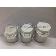 straight round acrylic airless cream jar 15ml 30ml 50ml