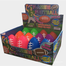 LED luminous rugby pet toy luminous rugby TPR luminous rugby