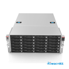 Chassis server di archiviazione distribuito 4u