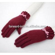 womens new fashion Korea warm cashmere gloves in winter wholesale