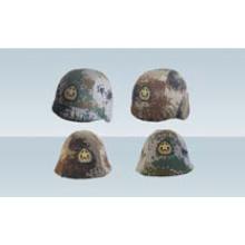 Couvre casque en acier militaire